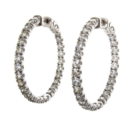 ROUND HOOPS 5.5 CT