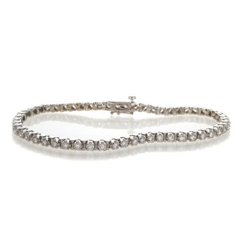 BRILLIANT DIAMOND TENNIS BRACELET