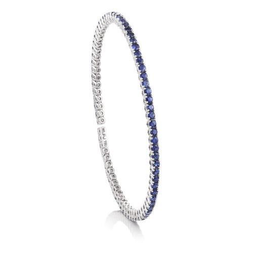 BLUE SAPPHIRE FLEX BANGLE