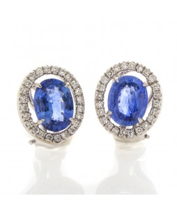 OVAL SAPPHIRES 3.77 CTS