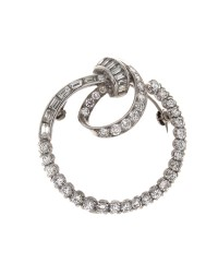 DIAMOND LOOP PIN