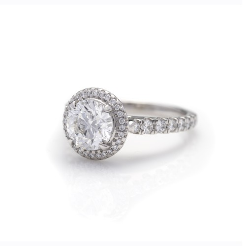 HALO BRILLIANT CUT DIAMOND 1.50 CT