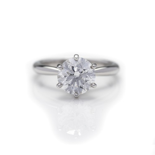 BRILLIANT CUT SOLITAIRE 2.16 CTS