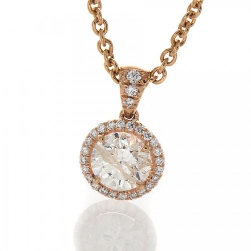 BRILLIANT DIAMOND .93 CT
