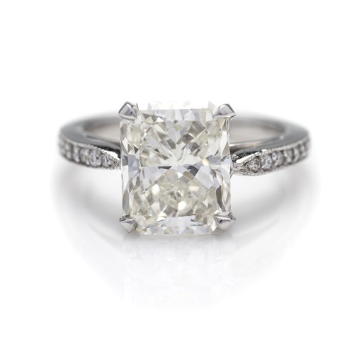 RADIANT CUT DIAMOND 4.16 CT