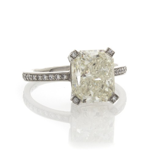 RADIANT CUT DIAMOND 3.44 CT