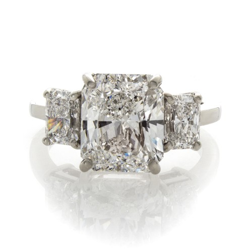 RADIANT CUT DIAMOND 3.72 CT
