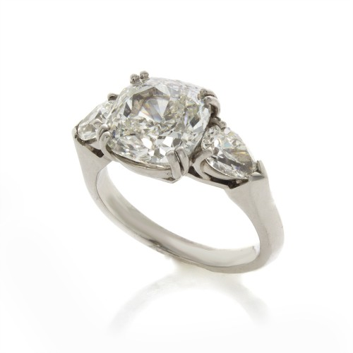 CUSHION CUT DIAMOND 4.20 CT