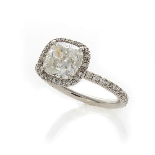CUSHION CUT DIAMOND 2.21 CT