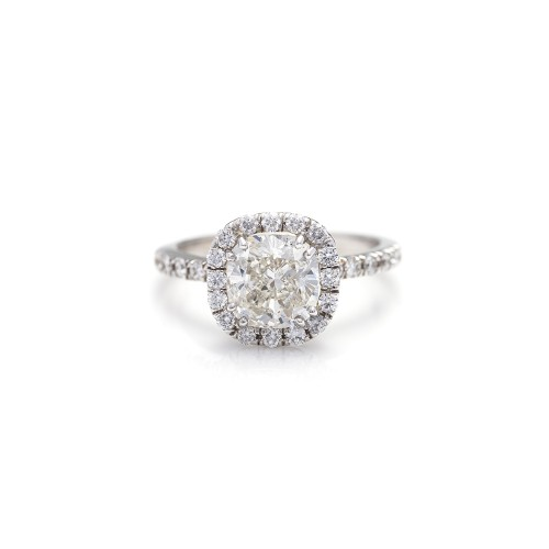 CUSHION CUT DIAMOND 2.01 CT