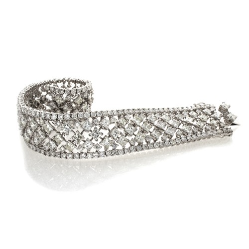 PRINCESS DIAMOND BRACELET