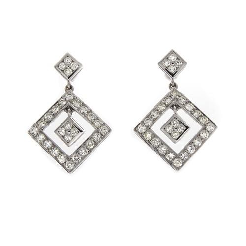 DANGLE DIAMOND EARRINGS