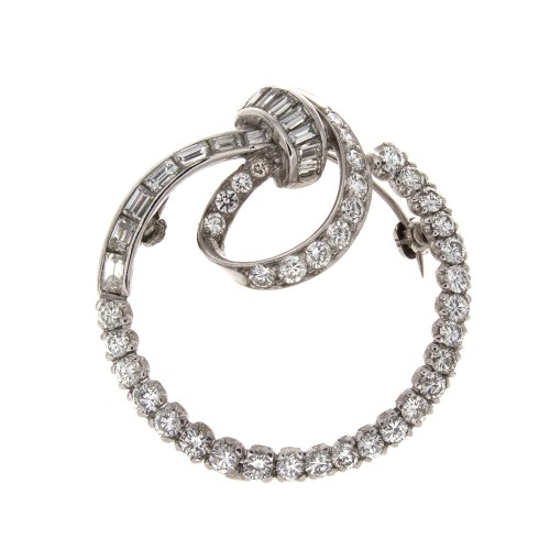 DIAMOND LOOP PIN