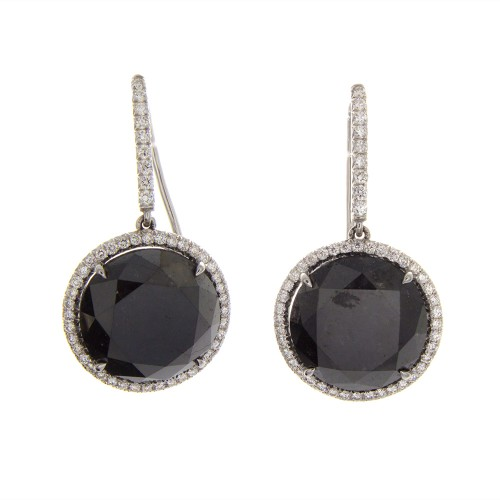 BRILLIANT BLACK DIAMONDS 13.86 CT