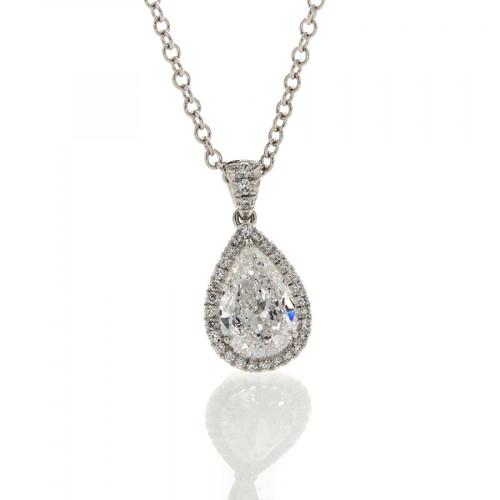 PEAR SHAPE DIAMOND 1.06 CT
