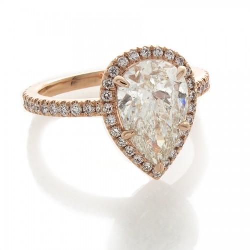 PEAR SHAPE DIAMOND 2.20 CT