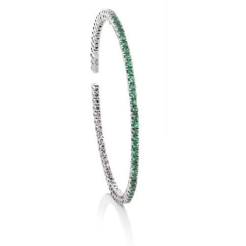 TSAVORITE FLEX BANGLE